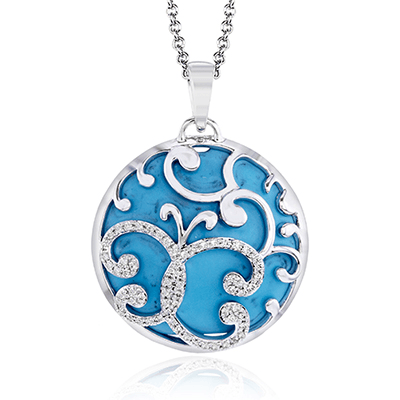 ZP762 COLOR PENDANT