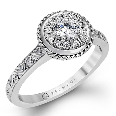 ZR1093 ENGAGEMENT RING