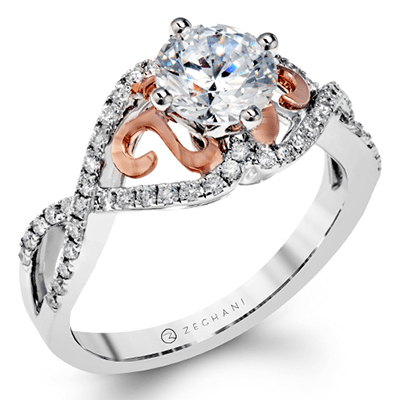 ZR1196 ENGAGEMENT RING