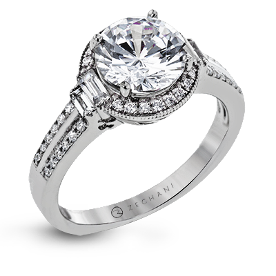 ZR1319 ENGAGEMENT RING