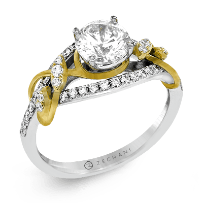 ZR1388 ENGAGEMENT RING