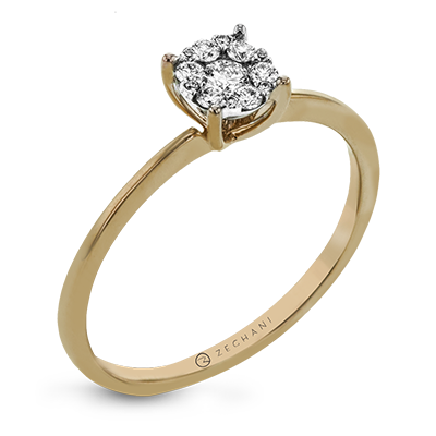 ZR1587 ENGAGEMENT RING