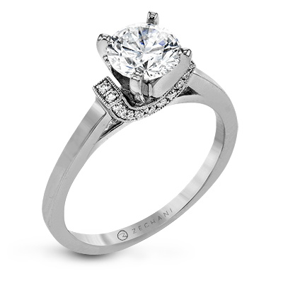 ZR1644 ENGAGEMENT RING