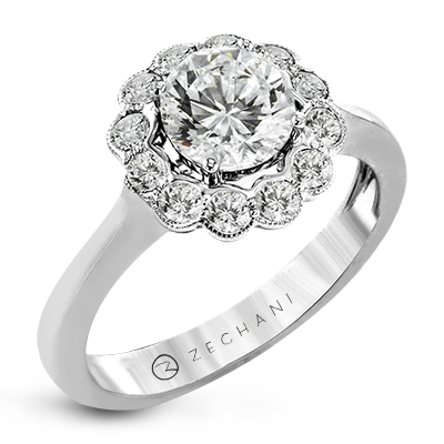 ZR1658 ENGAGEMENT RING