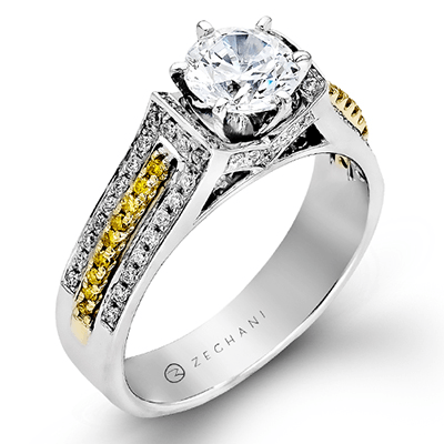 ZR166 ENGAGEMENT RING