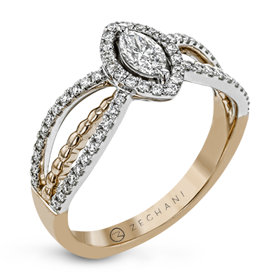 ZR1691 ENGAGEMENT RING