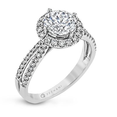 ZR1709 ENGAGEMENT RING