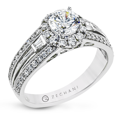 ZR1829 ENGAGEMENT RING