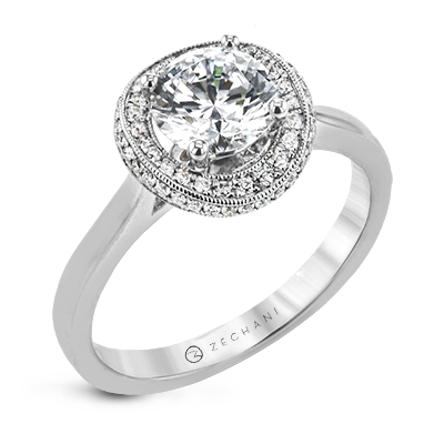 ZR1903 ENGAGEMENT RING
