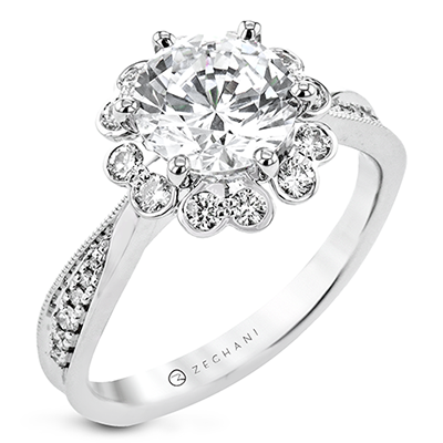 ZR2337 ENGAGEMENT RING