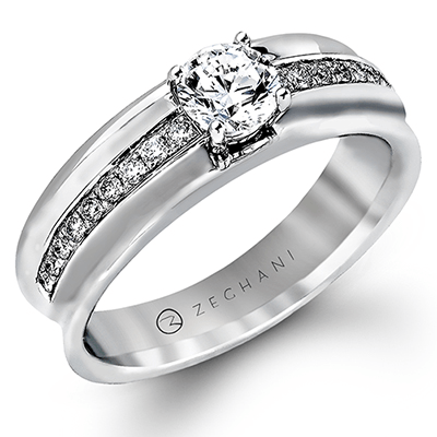 ZR317 ENGAGEMENT RING