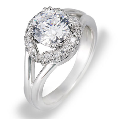 ZR537 ENGAGEMENT RING
