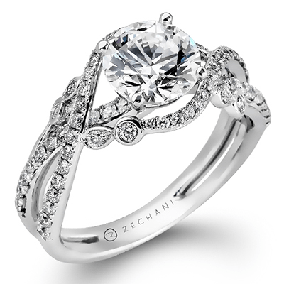 ZR876 ENGAGEMENT RING